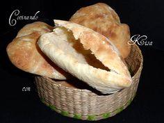 Pan de pita (thermomix) Bread Machine Recipes, Bread Recipes, Kitchen Recipes, Wine Recipes, Magimix Cook, Thermomix Bread, Tacos And Burritos, Sandwiches, Pan Bread