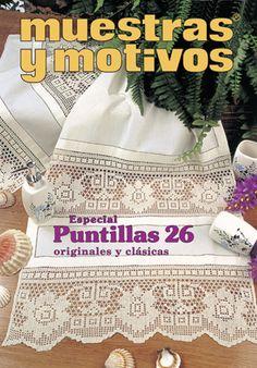 Colección De Delicadas Puntillas En Ganchillo Con Distintos Estilos Y