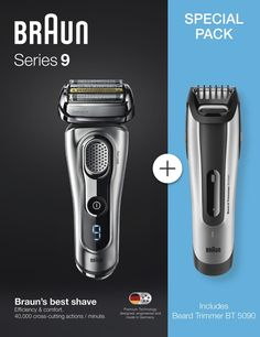 The Best Braun Electric Shavers for Men - After making tests on different Braun Electric-Shavers for men, the Braun Series 9 is the best in Electric Razors, Best Electric Razor, Best Electric Shaver, Head Shaver, Mens Razors, Best Shave, Beard Trimming, Technology Gadgets, Shaving