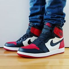 63b7e65c0f6 Go check out my Air Jordan 1 Retro Bred Toe on feet channel Quick link in  bio.