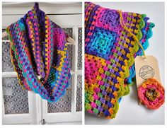 granny cowl shawl