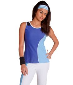 Attiva Women's Gym wear Sleeveless T-Shirt of Carvico Italian Fabric Gym Wear For Women, Fabric Online, Athletic Tank Tops, T Shirt, How To Wear, Stuff To Buy, Style, Fashion, Supreme T Shirt