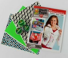 Enter to win the Duct Tape Swag Bag Giveaway! We are giving away three (3) prize packages, each of which contains one (1) copy of Duct Tape Your Heart Out, three (3) assorted Duck Tape® Sheets, and three (3) assorted rolls Duck Tape® crafting tape . The deadline to enter is April 28th, 2014, at 11:59:59 p.m. Eastern Time.