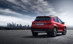 3D LED rear lights on the New Peugeot 2008 with a 3-claw design give the car a strong visual signature both front and rear even from 100m away.