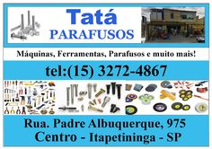 JORNAL AÇÃO POLICIAL: Tatá Parafusos Rua. Padre Albuquerque, 975 Centro - Itapetininga - SP tel:(15) 3272-4867 e-mail:…