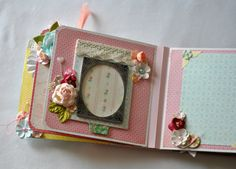 Baby Girl mini album  Girl Album  6x6 Album  by SoScrappyHappy, $40.00