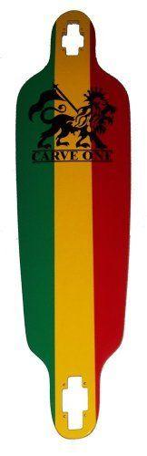 "Carve-One Blank Rasta Downhill Drop-thru Longboard Deck 39.75"" by Carve Designs. $40.99. Brand New, Top Quality Carve-one Longboard Deck"