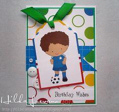 Hilda Designs: Tarjeta de Cumpleaños