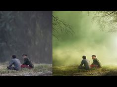 Photoshop CC Tutorials | Photo Manipulation & Effects ( Two boys ) - YouTube