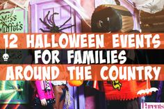 Whether you live in Florida, Pennsylvania, or Rhode Island, there are a ton of family-friendly Halloween events going on!