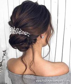 Gorgeous Wedding Hairstyles For the Elegant Bride - Updo Bridal hairstyle Featured Hair Stylish : mpobedinskaya. style ideas Gorgeous Wedding Hairstyles For The Elegant Bride Mohawk Updo, Braided Hairstyles Updo, Down Hairstyles, Prom Hairstyles, Wedding Bride Hairstyles, Hairstyle Ideas, Wedding Hairsyles, Hair Ideas, Bridesmaid Hairstyles
