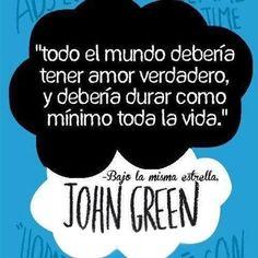 Bajo La misma Estrella de John Green