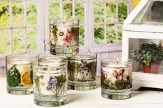 Fragrance Parks & Kenneth Turner </p> Gel Candles, Scented Candles, Flowers In Jars, Dried Flowers, Candle Art, Bath Bomb Recipes, Candle Containers, Candle Making, Crafting