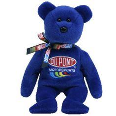 "Jeff Gordon NASCAR Merchandise | Details about ""JEFF GORDON No.24"" NASCAR TY BEANIE BABY New"