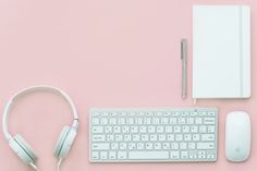 Free stock photo of apple mouse gadgets headphone