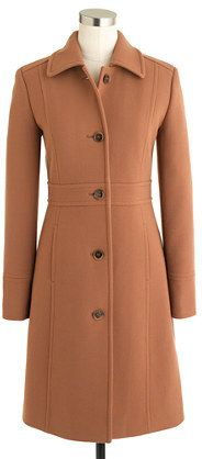 $289, J.Crew Double Cloth Lady Day Coat With Thinsulate. Sold by J.Crew. Click for more info: https://lookastic.com/women/shop_items/4642/redirect