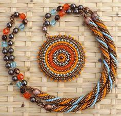 Klárik Tünde Modern Gyöngyékszerek-------------Tünde Klárik Fashion Jewelry: fülbevaló/earrings