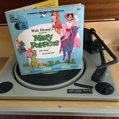 $10    Vintage 1964 Mary Poppins by Disneyland Records - Story Book and Vinyl Record / Walt Disney Productions by V1NTA6EJO
