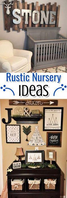 Rustic Baby Nurseries � Unique Baby Boy Nursery Themes