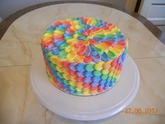 Petal Cake Designs | Collection of Colorful Cakes: Rainbow Cakes