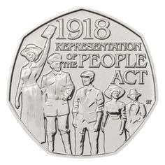 The Royal Mint produces a variety of commemorative coin collections, including Annual Sets, Royalty coins, Military coins and The Sovereign. English Coins, Rare 50p, 50p Coin, Coins Worth Money, Coin Worth, Uncirculated Coins, Coins For Sale, Old Money, Commemorative Coins