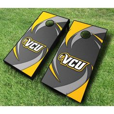 AJJCornhole NCAA 10 Piece Swoosh Cornhole Set NCAA Team:
