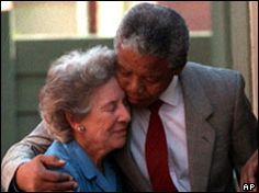 President Nelson Mandela and Honorable Human rights Fighter Helen Suzman