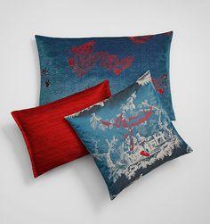SAHCO cushions DRAGON, CHINOISE, SIAM