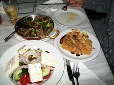 Santorini dinner off the beaten path- in Megalochori