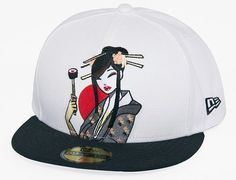 Welcome to the official tokidoki online shop! Find exclusive tokidoki bags, toys, apparel, tech, and skate right here. The Giant Peach, Fitted Baseball Caps, New Era Fitted, Snap Backs, Snapback Cap, Geisha, World Of Fashion, Caps Hats, Riding Helmets