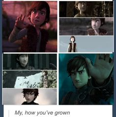 Hiccup HTTYD ~ HTTYD 2. Look at how much I've grown! I'm loving it! :-D
