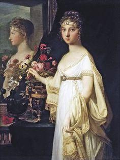 1802 Jean-Laurent Mosnier - Elisabeth Alexeievna