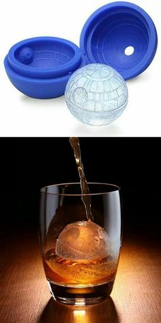 Death star ice cube. Not linked