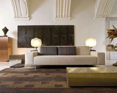 Image result for natuzzi sofa with integrated side table