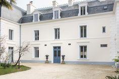 Façade entrée Villa Saint Raphaël, Chambres d'hotes à Saint Malo.