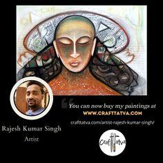 Famous Contemporary Artists, Original Artwork, Original Paintings, Mona Lisa, India, The Originals, Crafts, Goa India, Manualidades