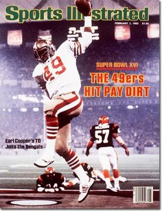 February 1, 1982 - The San Francisco 49ers, Superbowl XVI Champions.