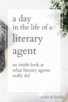 Ever wondered what literary agents ACTUALLY do? Here's a typical day in the life of a NYC literary agent! http://cooksplusbooks.com/2016/11/16/a-day-in-the-life-of-a-literary-agent/