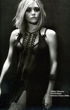 Mary-Kate and Ashley Olsen Fashion Editorials