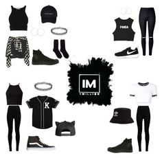 1MILLION DANCE STUDIO #24 by kariina-sykes on Polyvore featuring moda, UNIF, Jonathan Simkhai, WithChic, Wolford, Topshop, Hansel from Basel, Vans, Converse and NIKE
