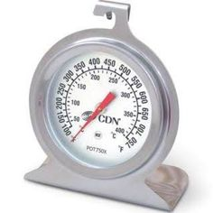 Cdn Proaccurate High Heat Oven Thermometer Stainless Steel