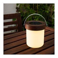 IKEA - SOLVINDEN, Led-tafellamp op zonnecellen,