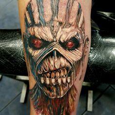 Eddie iron maiden tattoo