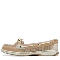 Sperry Top-Sider Women's Angelfish Boat Shoes (Linen Gold)