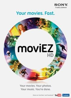 Sony moviEZ HD Create fun videos and slideshows quickly