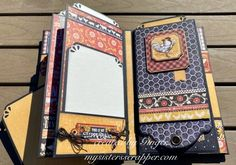 Farmhouse Mini Album Tutorial By Ginger Ropp Graphic 45 - Farmhouse paper collection now available Mini Scrapbook Albums, Scrapbook Page Layouts, Mini Albums, Scrapbook Pages, Book And Frame, Mini Album Tutorial, Album Book, Frame Crafts, Heartfelt Creations