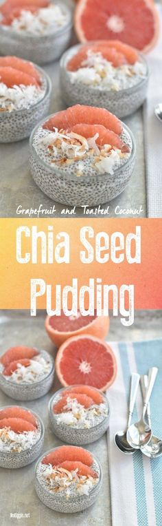 chia pudding with grapefruit | http://NoBiggie.net