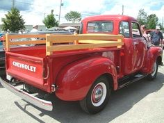 1949 Chevy Pickup; my papa had a truck just like this <3