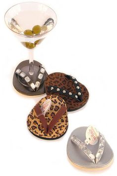 flip+flop+coasters....to go with my flip-flop lounge chairs!! :)