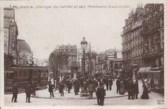 Place de Clichy - On aperçoit au fond à gauche le Gaumont Palace, 1902